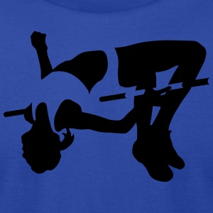 high jumping Tanks - Men's T-Shirt by American Apparel