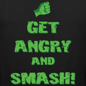 Get Angry And Smash T-Shirts - Men's Premium Tank