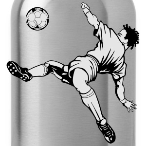 soccer ball kicker Women's T-Shirts - Water Bottle