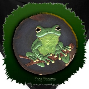 Frog Dreams Green Tree Frog - Bandana