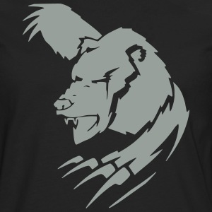 Bear 3 (Glow in the Dark) - Men's Premium Long Sleeve T-Shirt