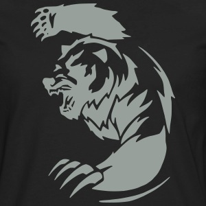 Bear 4 (Glow in the Dark) - Men's Premium Long Sleeve T-Shirt