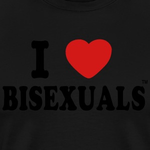 I LOVE BISEXUALS Long Sleeve Shirts - Men's Premium T-Shirt