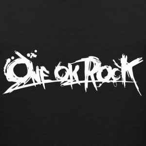 ONE OK ROCK BANNER (White) T-Shirts - Men's Premium Tank
