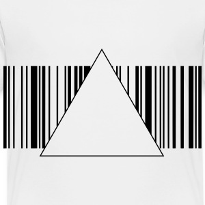 Hipster Barcode 1c Kids' Shirts - Toddler Premium T-Shirt