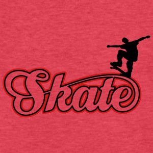 skate Tanks - Fitted Cotton/Poly T-Shirt by Next Level