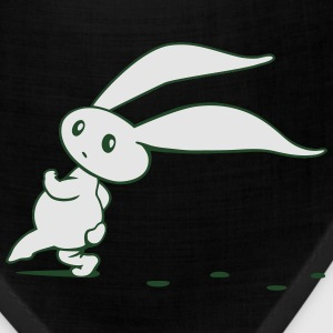 Cute Easter Bunny sneaking around Long Sleeve Shirts - Bandana