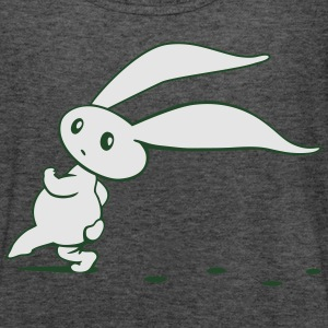 Cute Easter Bunny sneaking around Long Sleeve Shirts - Women's Flowy Tank Top by Bella