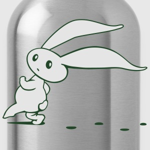 Cute Easter Bunny sneaking around Long Sleeve Shirts - Water Bottle