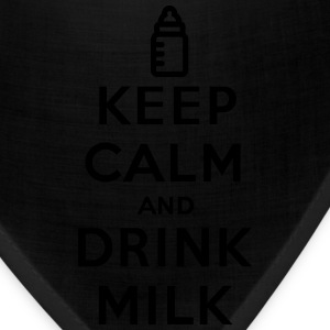 Keep calm and drink milk Baby & Toddler Shirts - Bandana