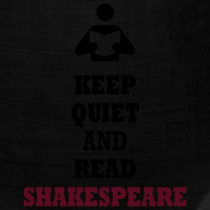 Keep Quiet and Read Shakespeare T-Shirts - Bandana