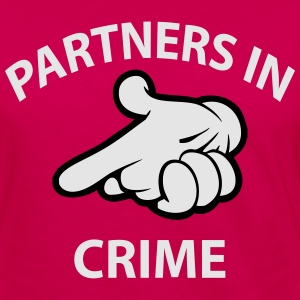 partners in crime Hoodies - Women's Premium Long Sleeve T-Shirt
