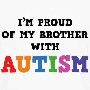 I'm Proud Of My Brother With Autism - Men's Premium Long Sleeve T-Shirt