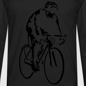 radfahrer_042013_a_1c Kids' Shirts - Men's Premium Long Sleeve T-Shirt