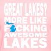 Great Lakes? Down with Detroit Women's T-Shirts - Women's T-Shirt