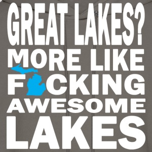 Great Lakes? Down with Detroit T-Shirts - Men's Hoodie