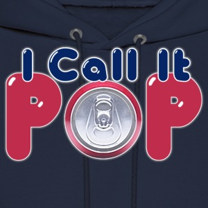 I Call It Pop Down With Detroit Long Sleeve Shirts - Men's Hoodie