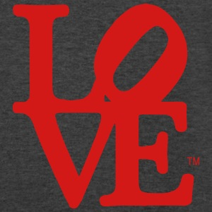 LOVE Tanks - Men's V-Neck T-Shirt by Canvas
