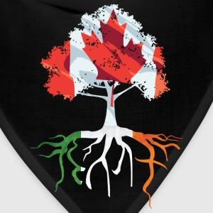 Canada Irish Roots Irish Celtic Apparel T-Shirts - Bandana