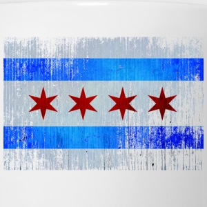 Chicago Flag Faded Chicago Hoody Women's T-Shirts - Coffee/Tea Mug