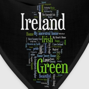 Ireland Words Irish Celtic Apparel Long Sleeve Shirts - Bandana