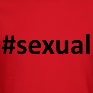 Hashtag #sexual Women's T-Shirts - Crewneck Sweatshirt