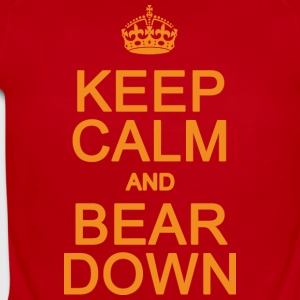 Keep Calm and Bear Down Chicago Hoody  Sweatshirts - Short Sleeve Baby Bodysuit
