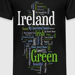 Ireland Words Irish Celtic Apparel Kids' Shirts - Toddler Premium T-Shirt