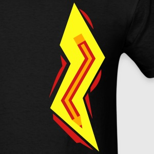Pencil Lightning Bolt Polo Shirts - Men's T-Shirt