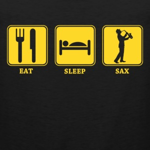 eat sleep sax - Men's Premium Tank