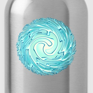 Energy Ball, Chi, Reiki, Chakra, Lightning, Flash T-Shirts - Water Bottle