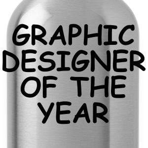 Graphic Designer Of The Year T-Shirts - Water Bottle