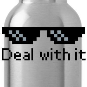 Deal With It Hoodies - Water Bottle