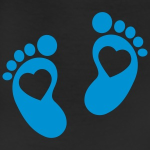 Baby - footprint - heart Accessories - Leggings