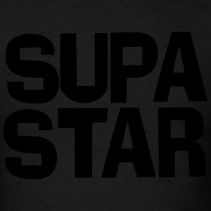 Supa Star Long Sleeve Shirts - Men's T-Shirt