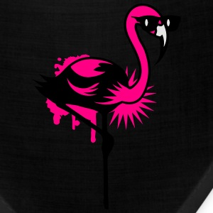 Flamingo with sunglasses T-Shirts - Bandana