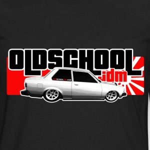 Old School JDM 01 - Men's Premium Long Sleeve T-Shirt