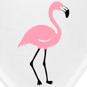 Flamingo Women's T-Shirts - Bandana