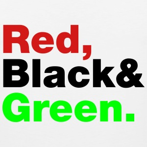 Red, Black & Green. Hoodies - Men's Premium Tank