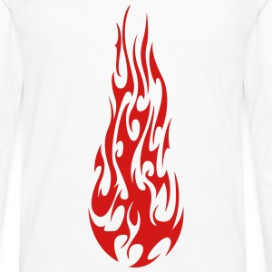 Flame T-Shirts - Men's Premium Long Sleeve T-Shirt