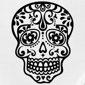 Mexican skull, floral pattern - Days of the Dead Hoodies - Bandana