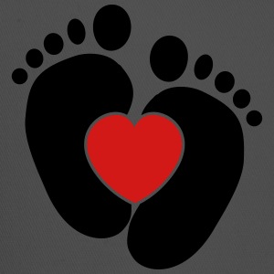 Baby heart feet Tanks - Trucker Cap