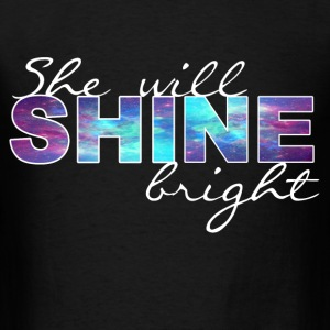 shine bright 2 Long Sleeve Shirts - Men's T-Shirt