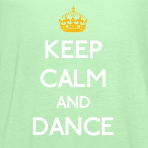 Keep Calm And Dance mp T-Shirts - Women's Flowy Tank Top by Bella