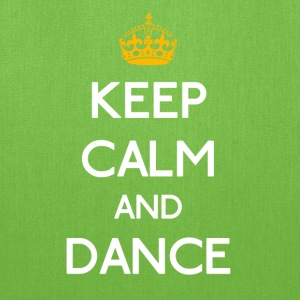 Keep Calm And Dance mp T-Shirts - Tote Bag
