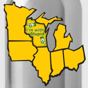 Im With Stupid Milwaukee Mart Sweatshirts - Water Bottle