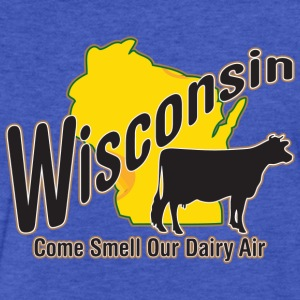 Wisconson Dairy Air Milwaukee Mart Sweatshirts - Fitted Cotton/Poly T-Shirt by Next Level