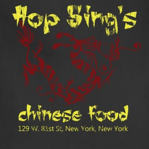 Hop Sing's Chinese Food - American Apparel - Adjustable Apron