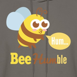 Funny cartoon on bee humble T-Shirts - Men's Hoodie