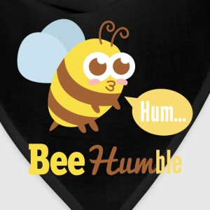 Funny cartoon on bee humble T-Shirts - Bandana